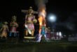 10 Ravana effigy burnt on Dussehra in Kolkata