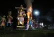 10 Ravana effigy burnt on Dussehra inKolkata