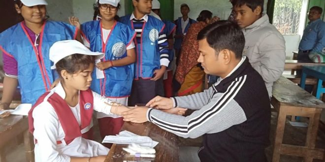 Immunization and Thalassemia awareness camp held in Dhubulia Shyamaprasad Shikshayatan (H.S)