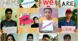 International Mother's Day celebration by students of Krishnagar Public School, Nadia