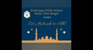 Krishnagar Public School, Nadia, West Bengal celebrates Eid-ul-Fitr