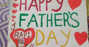 Krishnagar Public School, Nadia celebrates Father's Day