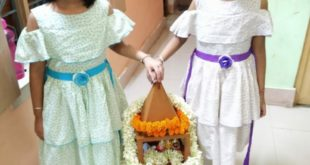 Rath Yatra celebration at Krishnagar Public School, Nadia