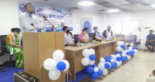 Haringhata Administration felicitates 52 Covid workers