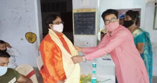 Safai workers felicitated as Corona Warriors in Kalyani