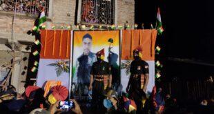 Locals demand renaming road in the name of Nadia martyred Army Jawan Subodh Ghosh